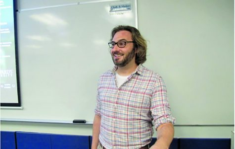 "Professor poses challenge to ""open up"" classroom discussion"