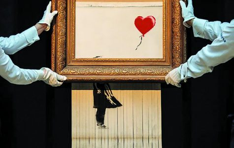 Banksy Strikes Again: $1.4 million artwork shredded in rebellious stunt