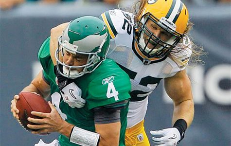 Clay Matthews (right) is just one of the latest defensive players penalized for new rules.