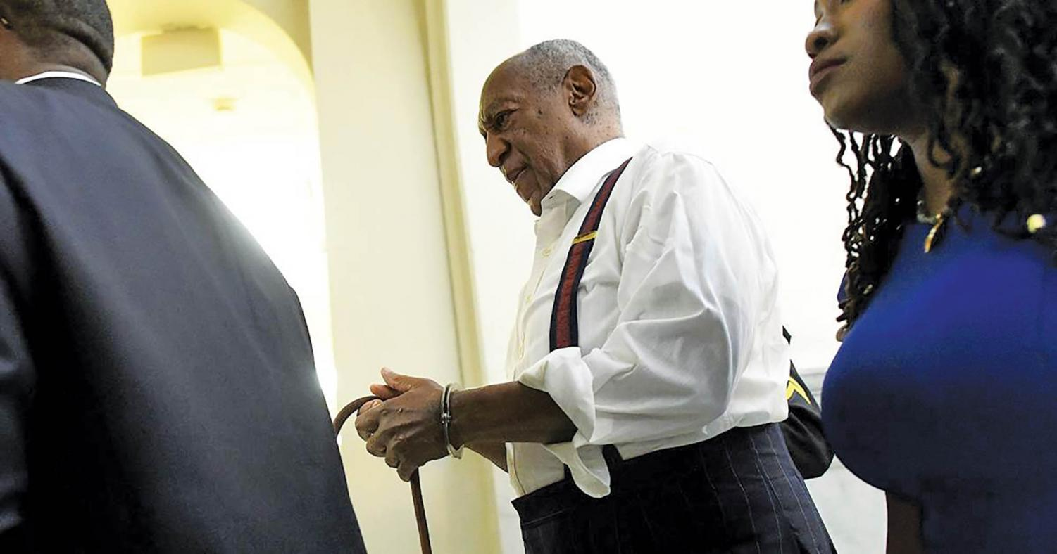 Cosby has been sentenced to three to ten years