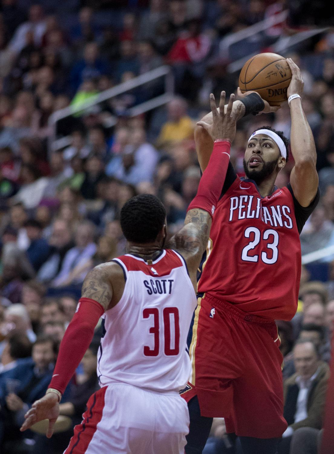 Anthony Davis enters seventh year of his career as a early candidate for Defensive Player of the Year.