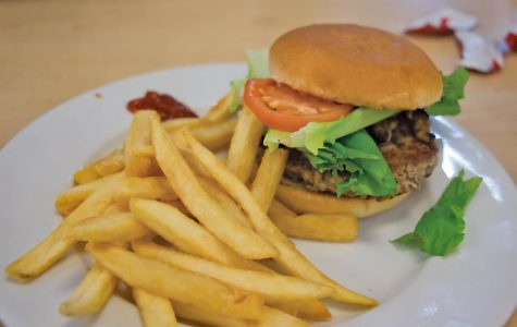 The burger received good reviews from vegans, meat eaters.