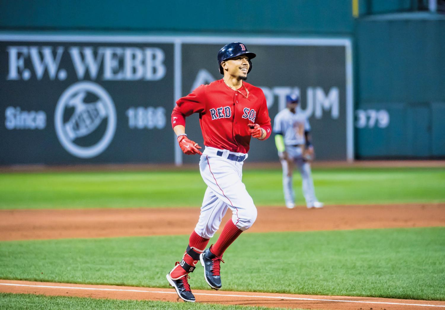 Mookie Betts leads the Red Sox to the World Series for first time since 2013.