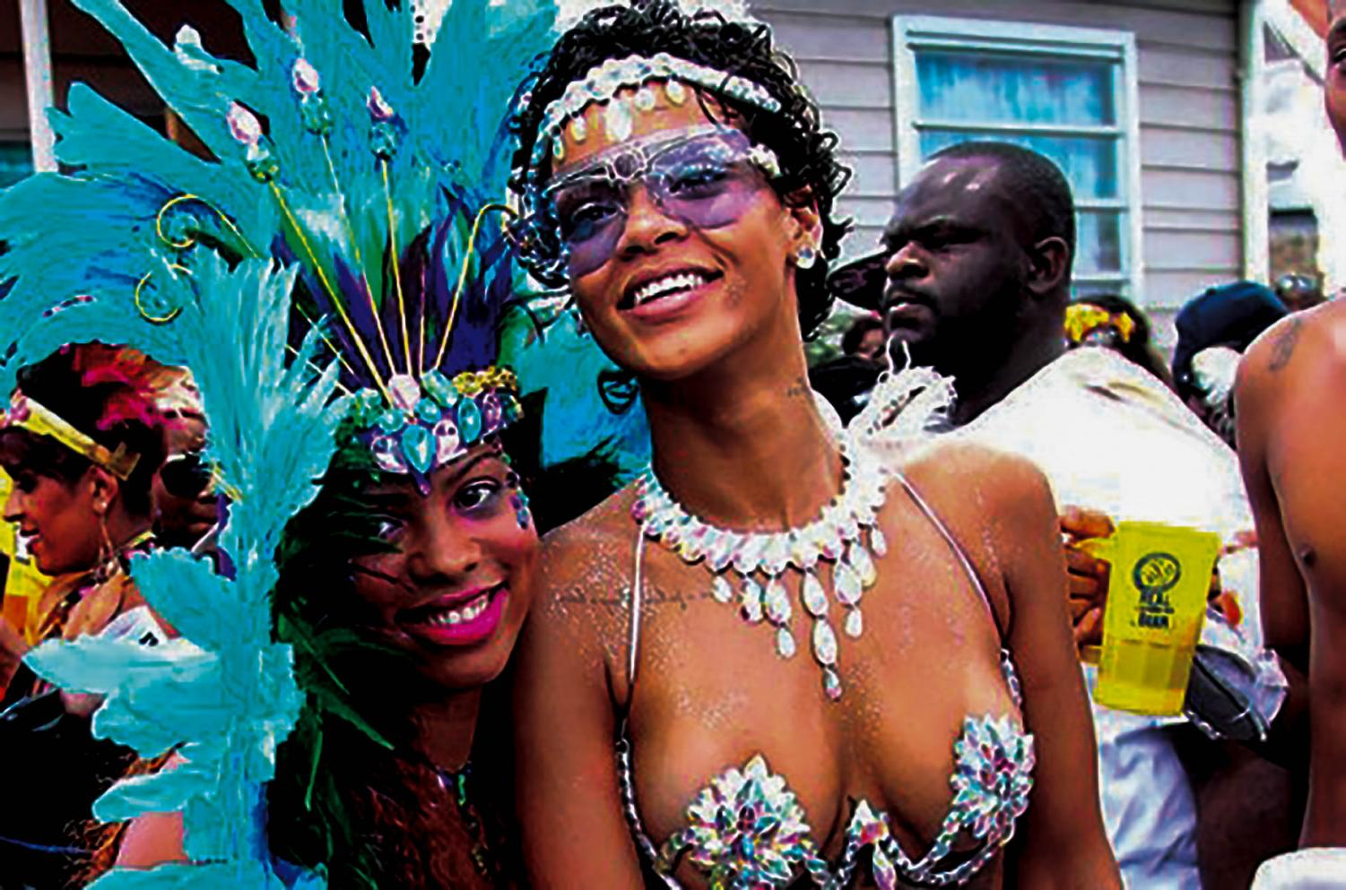 Rihanna has been known to attend the Crop Over Festival in Barbados.
