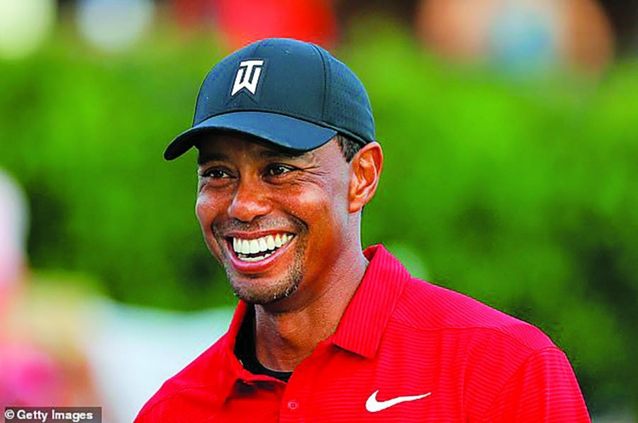 Tiger+Woods+smiles+after+his+victorious+run+at+the+Tour+Champion+2018.