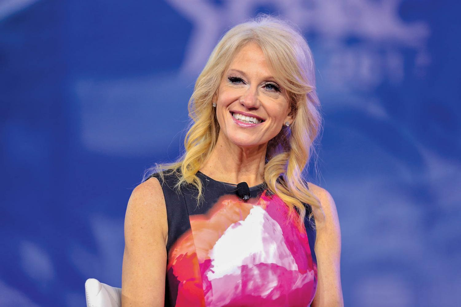 Conway serves as the current counselor to the President