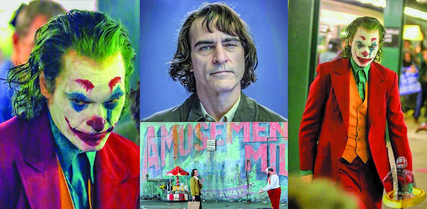 Phoenix's interpretation debuts on Oct. 4, 2019 in the film 'Joker.'