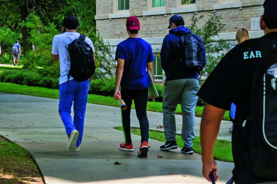 60.7 percent of students on our campus are female and 39.3 are male.