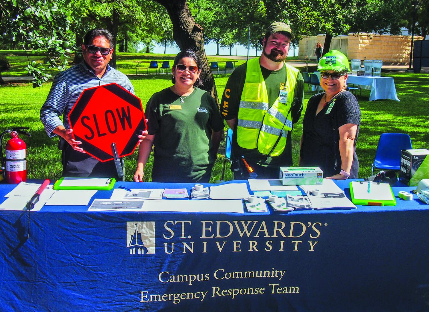 The safety fair addressed issues of disaster preparedness, fire safety and many others.