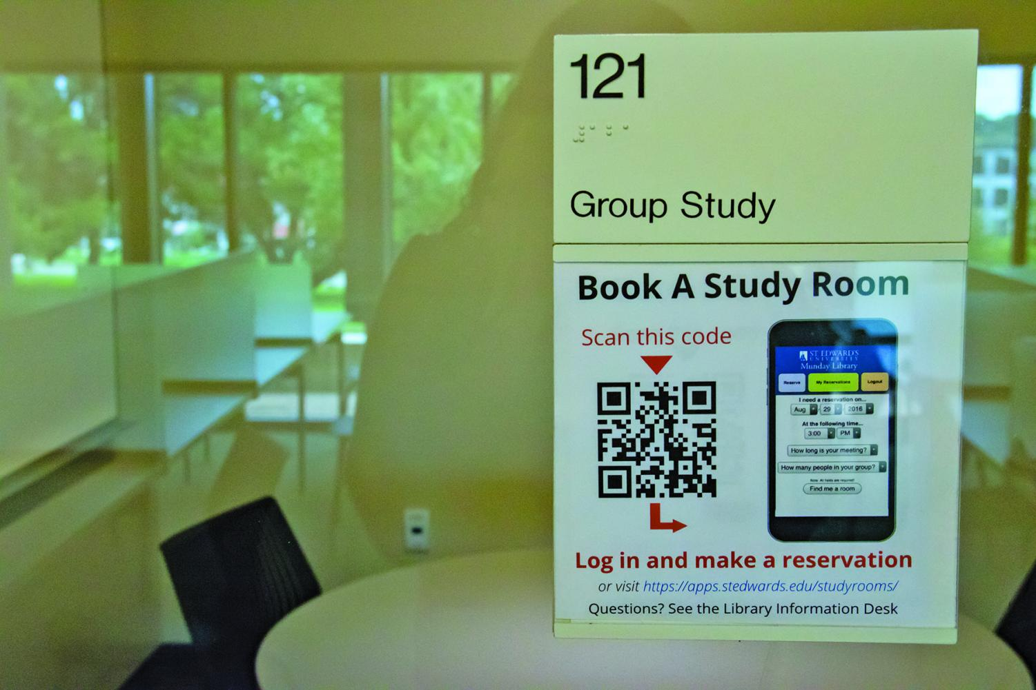 Study rooms should be an easy process to book.