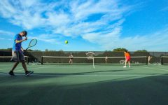Club tennis team doubles in size: hopes to continue growing, competing in tournaments