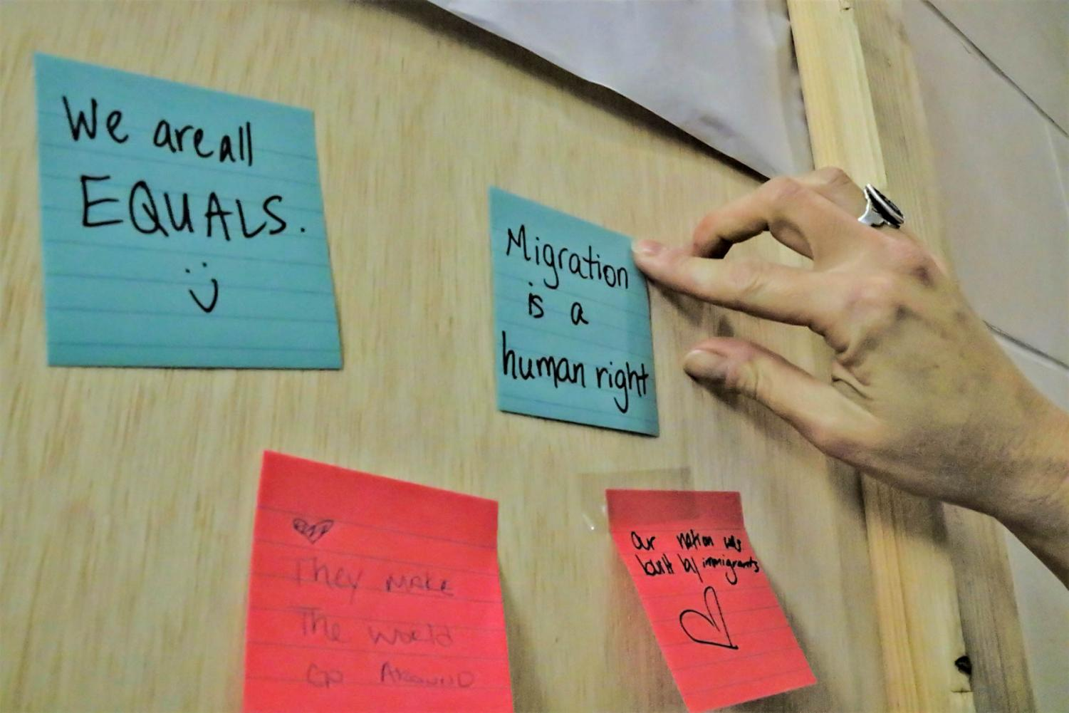Monarchs on the Hilltop hosted several events surrounding immigrant rights.