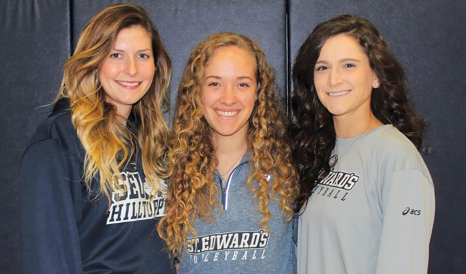 The SEU volleyball finished the season with a respectable 18-12 record that saw three athletes earn conference recognition.