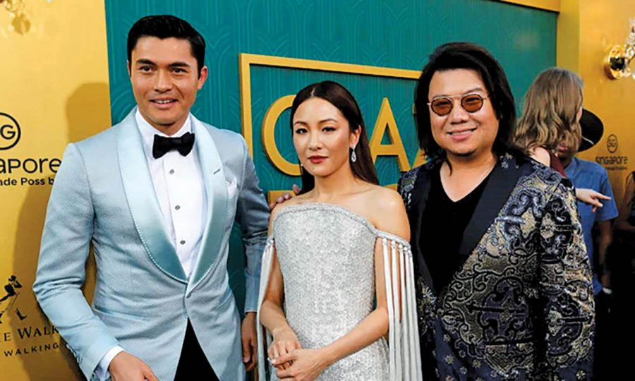 Two sequels released in 2015, 2017 follow Kwan's (right) 'Crazy Rich Asians' novel.
