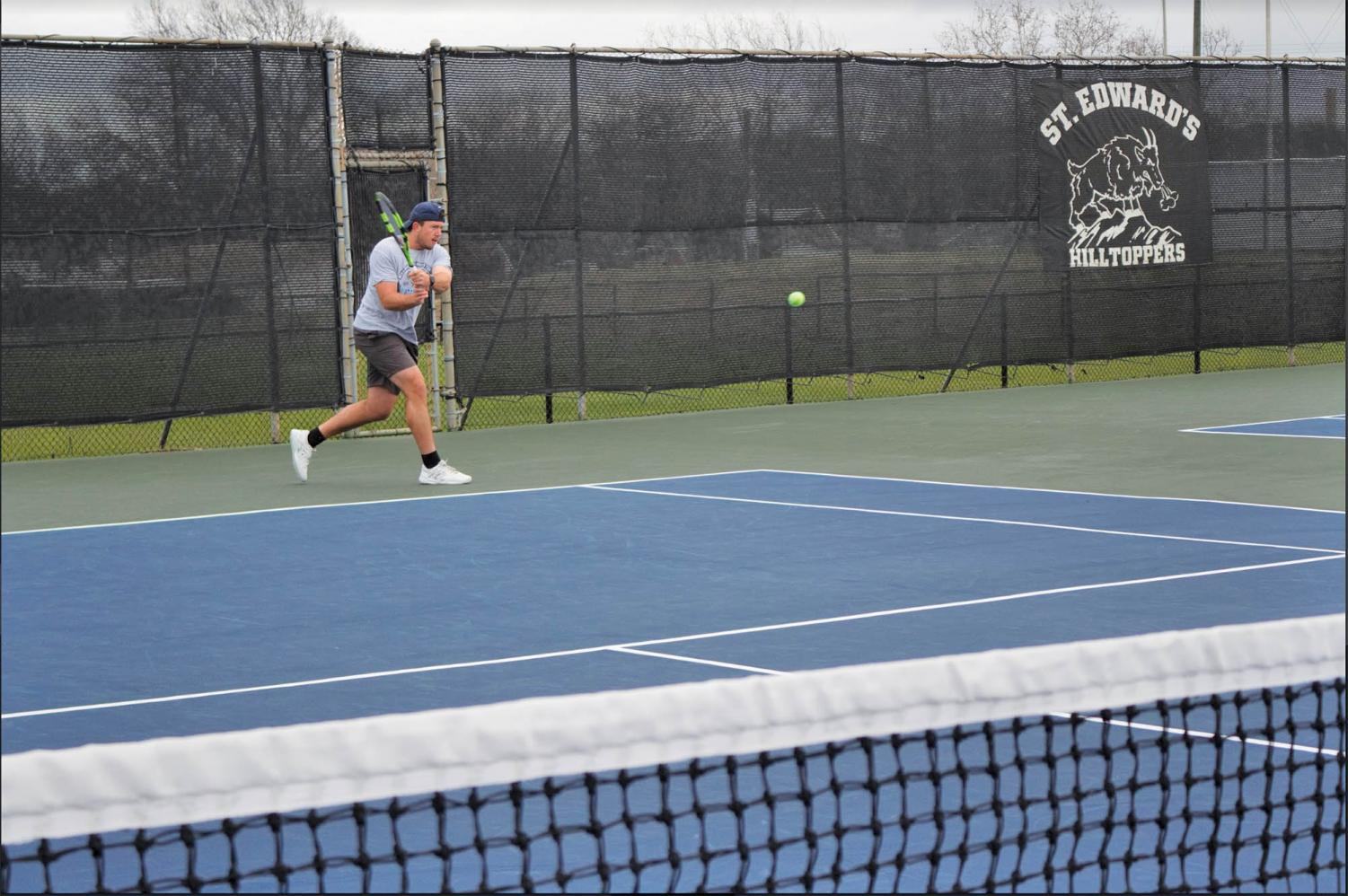Senior Chase Morehouse currently has an SEU career 22-10 singles record.