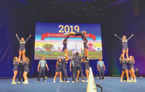 SEU cheer competes nationally for third consecutive year