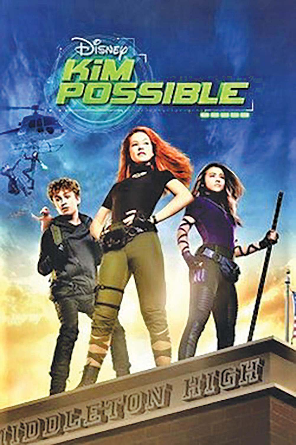 'Kim Possible' is the first cartoon to live-action adaptation on Disney Channel.