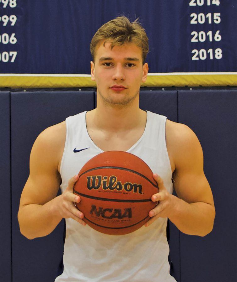August Haas is averaging 9.7 points, 6.7 assists and 1.6 steals a game this season.