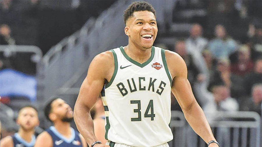 Giannis+Antetokounmpo+was+the+top-voted+player+in+the+East.