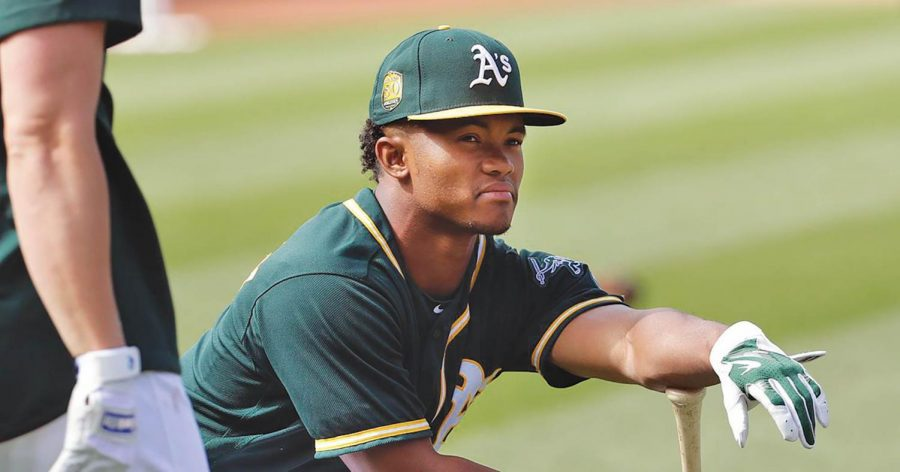 Kyler+Murray+was+selected+ninth+overall+by+the+Oakland+A%27s+in+the+2018+MLB+draft.+