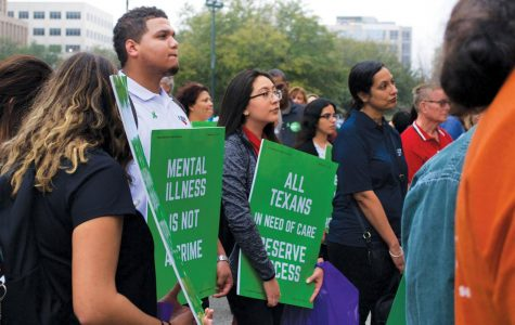 Activists rally at capitol to help raise awareness about mental health issues