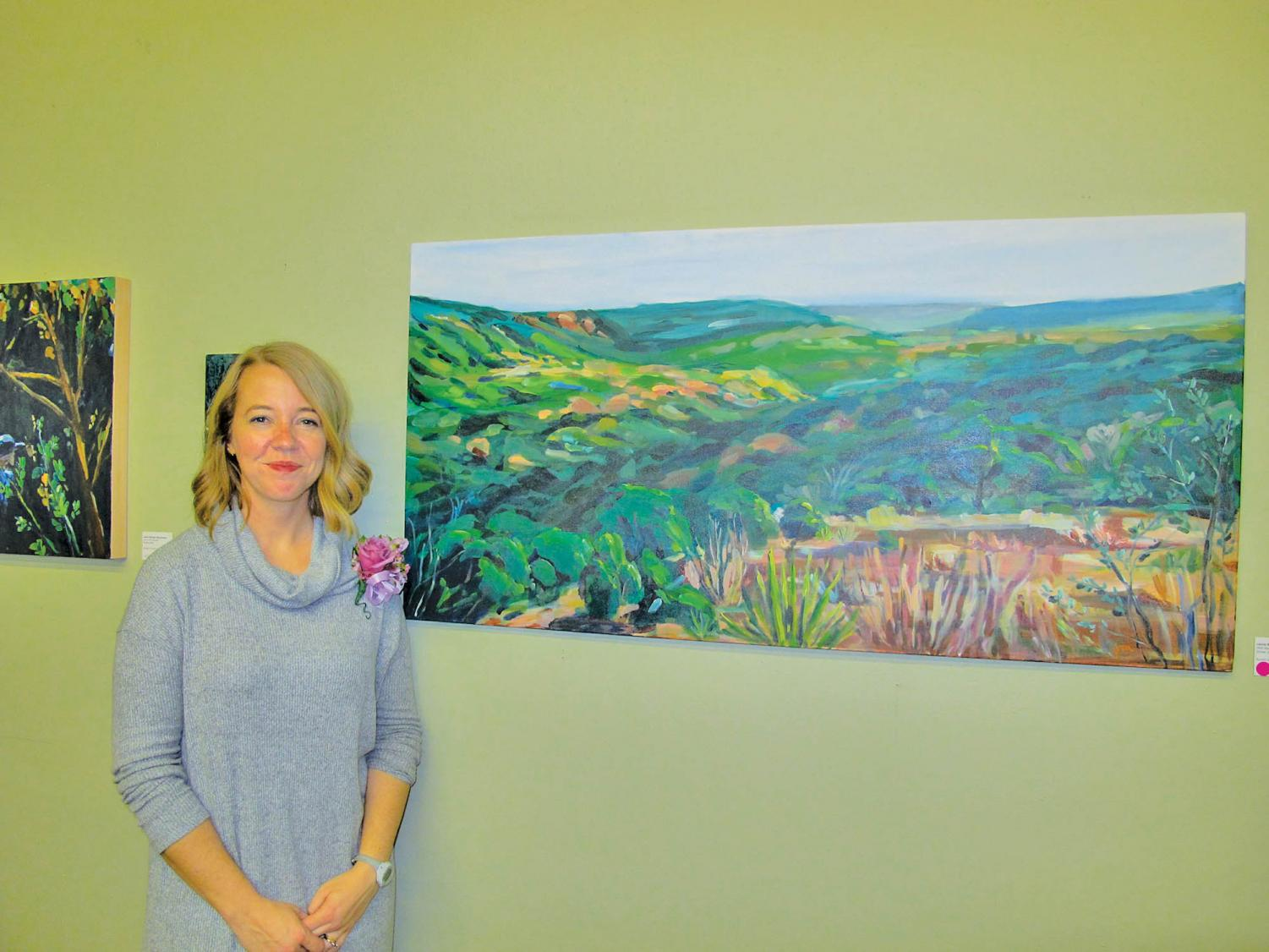 McCormick has been a professional artist since 2016, working to bring attention to Austin's natural landscapes