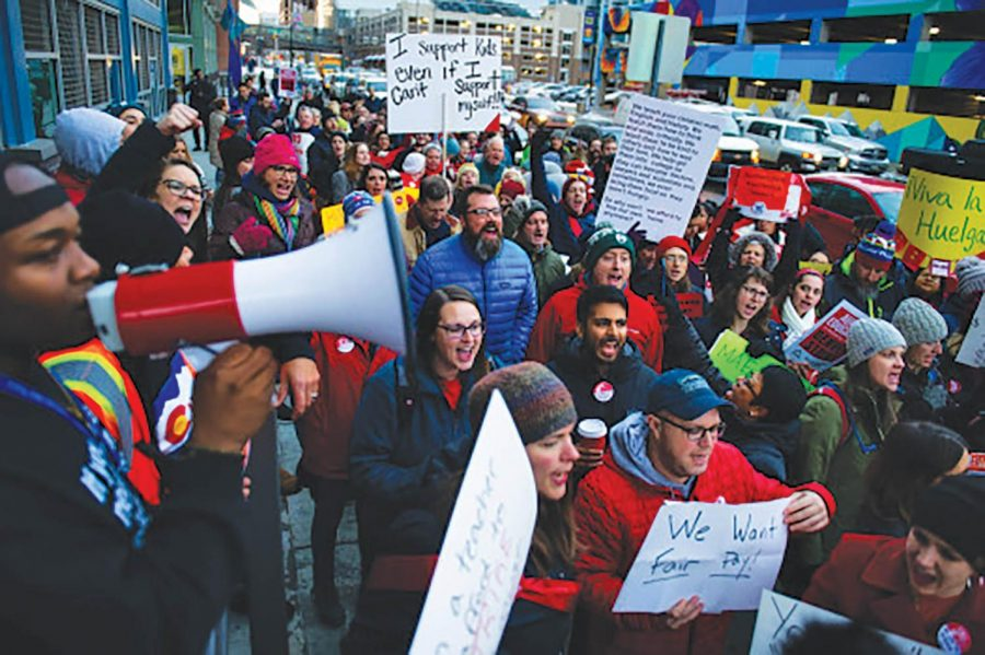 The teachers' union is set to meet with Governor Jared Polis one last time before the state intervenes in possible strike.