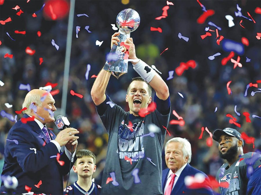 Tom+Brady+now+has+the+most+Super+Bowl+wins+by+a+quarterback+in+NFL+history.