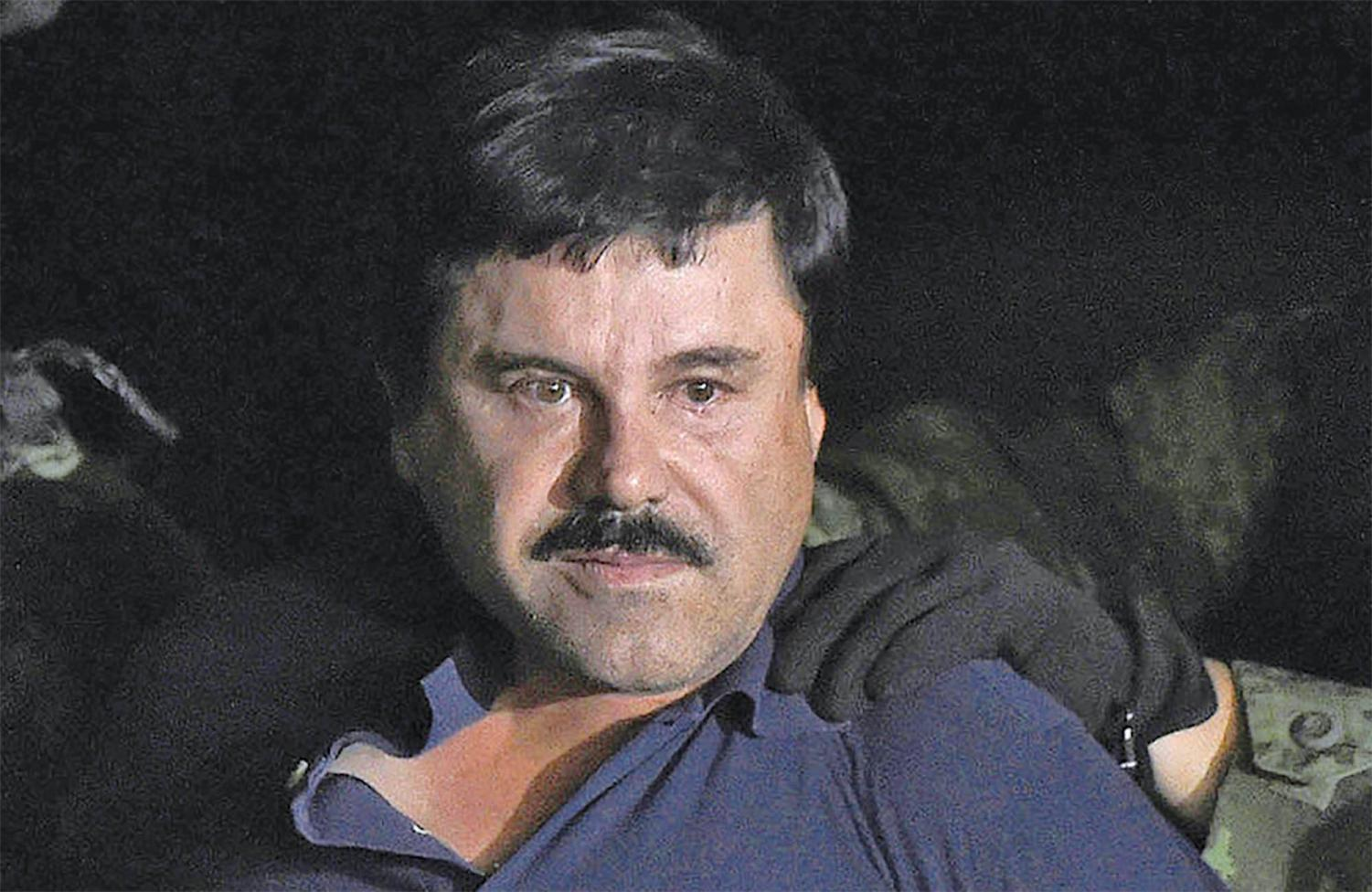 El Chapo could face life in prison if convicted.