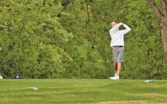 Men's golf places first in spring season's kick-off, three golfers finish in the top four