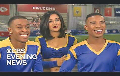 LA Rams cheerleaders break boundaries: first squad to include two males in Super Bowl LIII