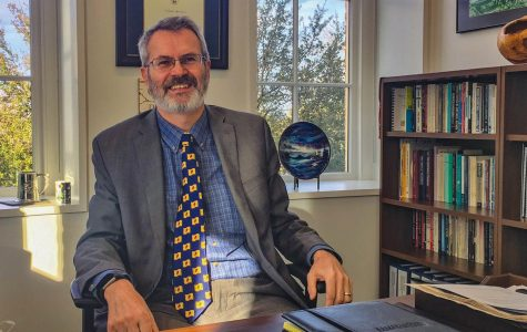 Professor explores atheistic perspectives on traditionally Catholic campus