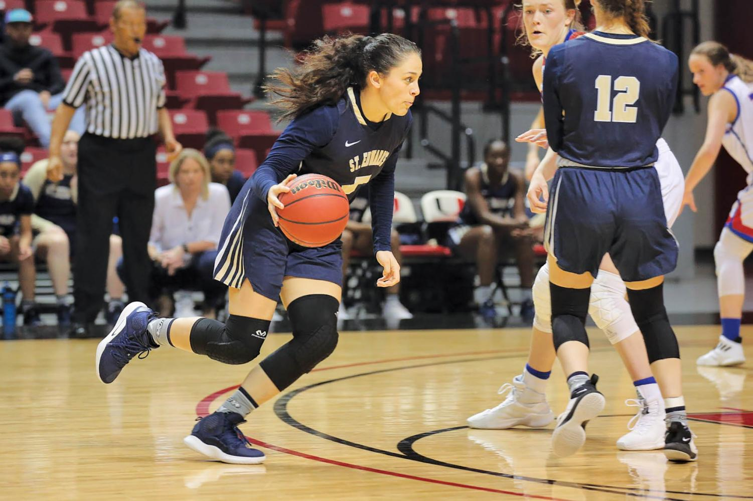 Senior forward Isabel Hernandez ends her collegiete career with an All-Heartland Conference First-Team selection.