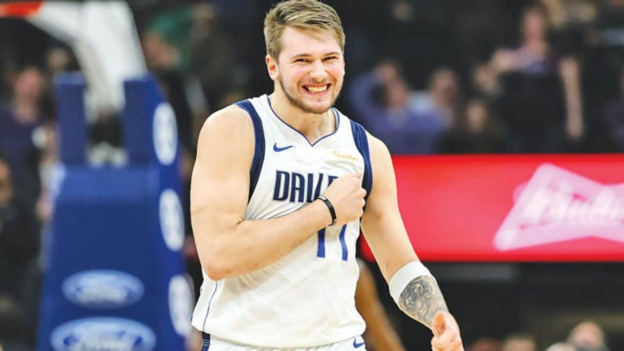 In his first year with the Mavericks, Luka Doncic is leading all rookies in scoring. Doncic is also the favorite to win the 2019 Rookie of the Year award.