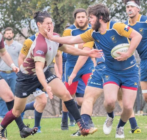 SEU rugby finished the regular season with a 7-1 record.
