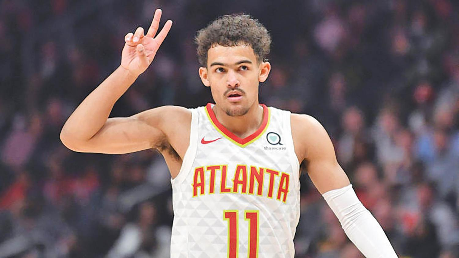 With his playmaking abilities and sharp-shooting, Trae Young has developed into one of this year's outstanding rookies. Young is set to be the Hawks' next franchise player to build around.