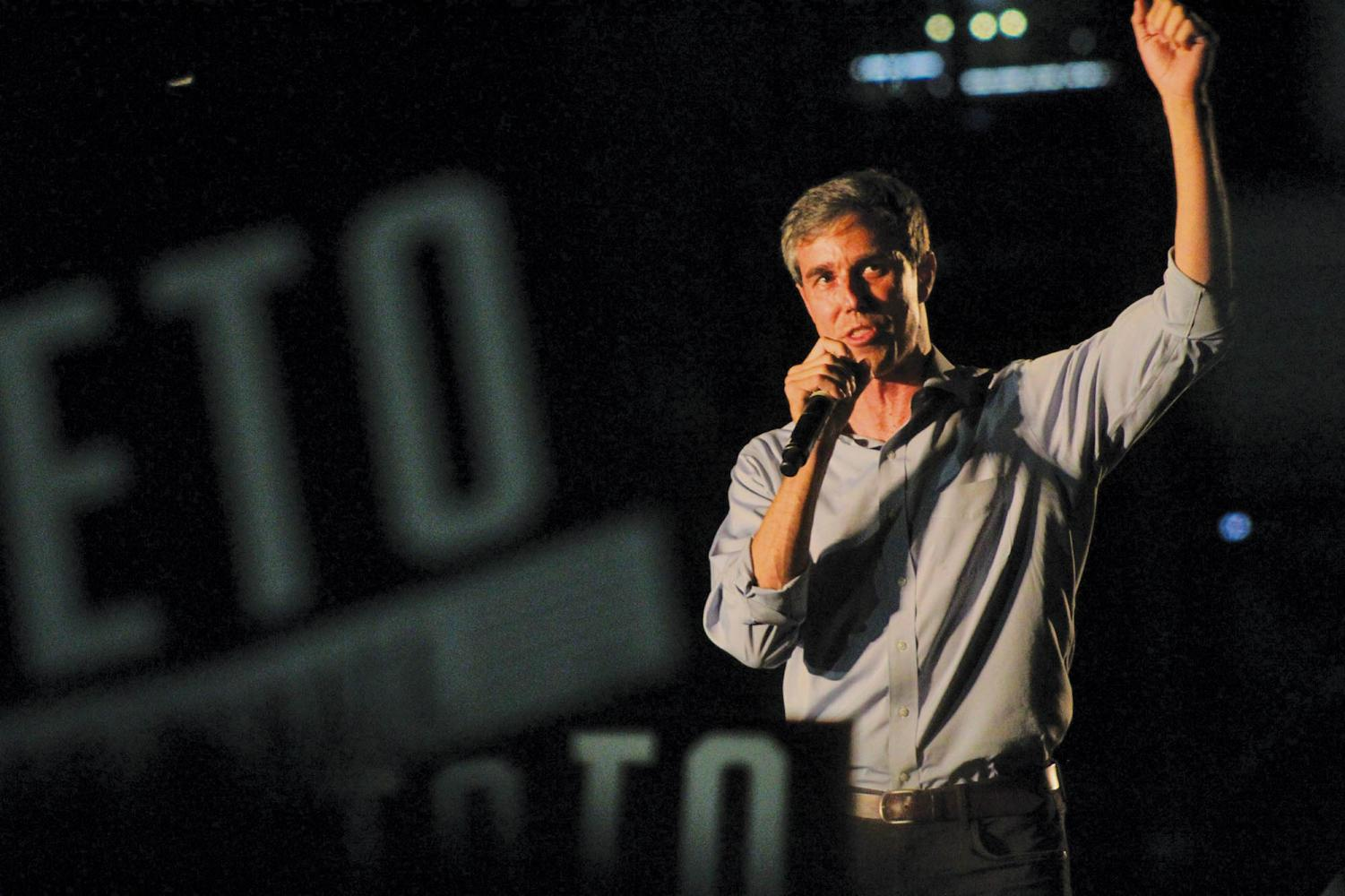 Beto O'Rourke campaigned several times during his 2018 senate run, including speaking at a free concert (pictured above). He returned to the capital city to kick of his 2020 president run.