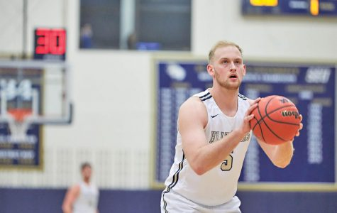 Men's basketball's lone senior reflects on SEU career, time as captain