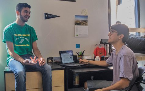 From the Rio Grande Valley to Austin, freshmen Carlos Chavira and Eduardo Carrillo have made the move from high school friends to college roommates.