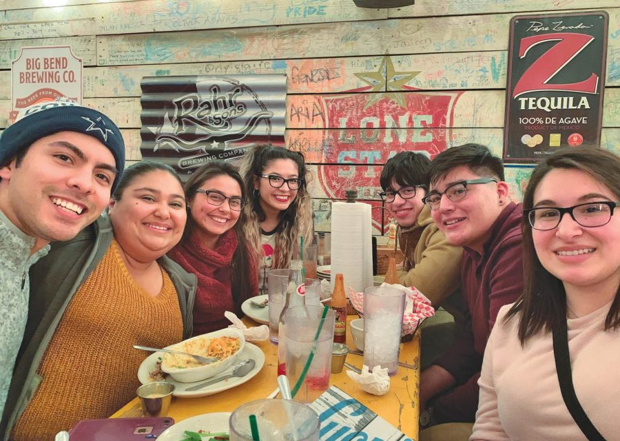 SEU junior Eddie Castellanos has managed to keep a close connection to a few of her friends from her hometown of San Benito, Texas. No matter the distance, the bond has stayed strong.