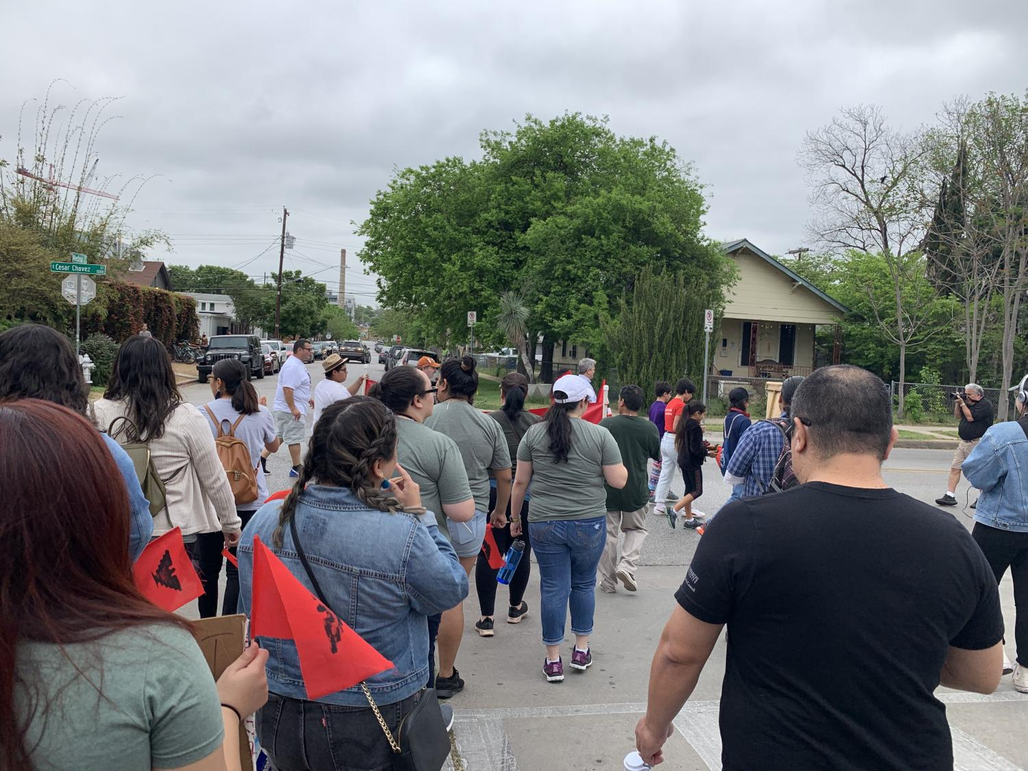 CAMP students participated in events such as the Cesar Chaves march in support of National Farmworker Awareness Week. The students are part of one of the longest running programs of its kind