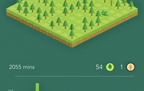 App discourages excessive phone use through growth of virtual forest