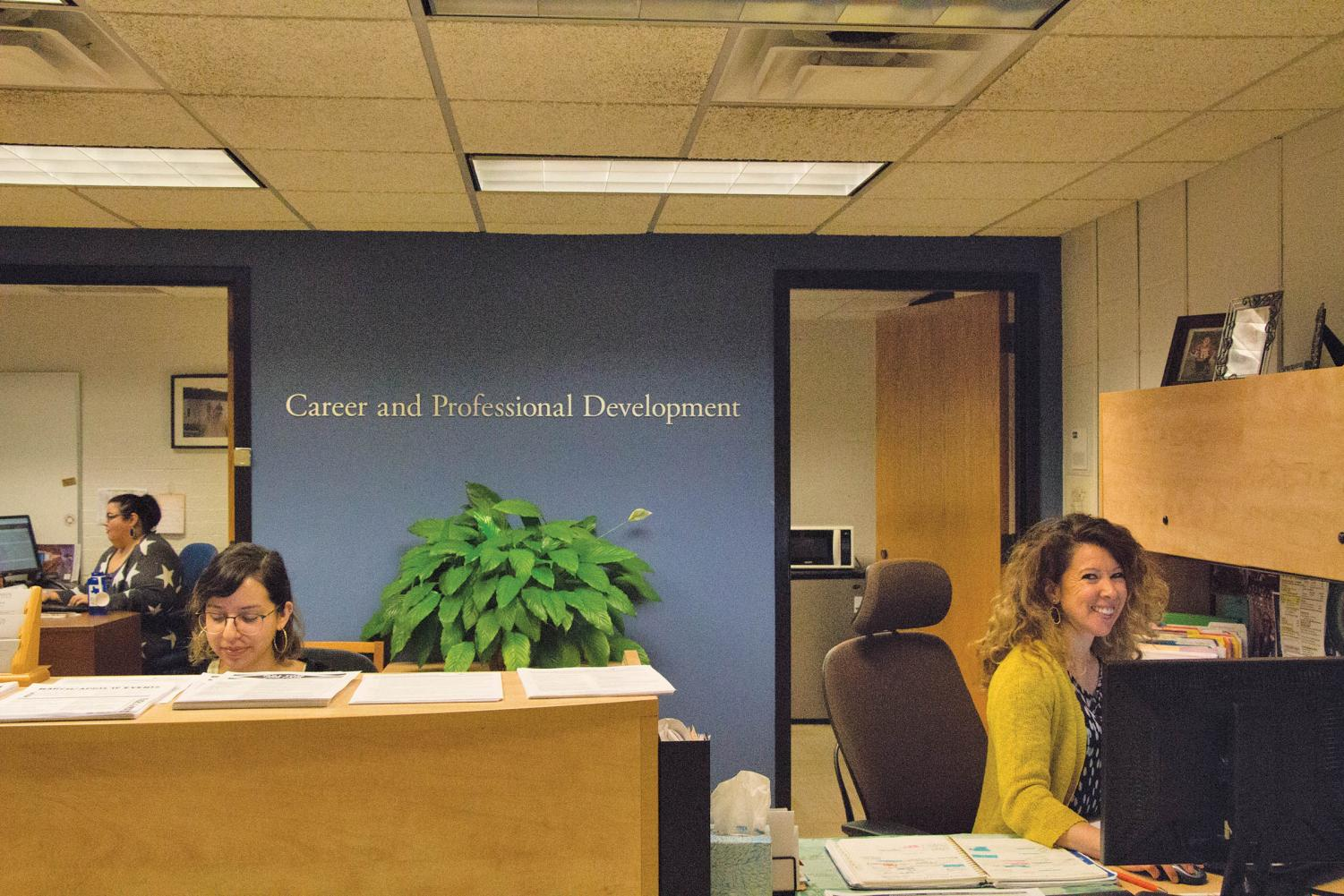 The Career and Professional Development Office provides students with the help needed to acquire internships. Students especially struggle to find internships during the summer.