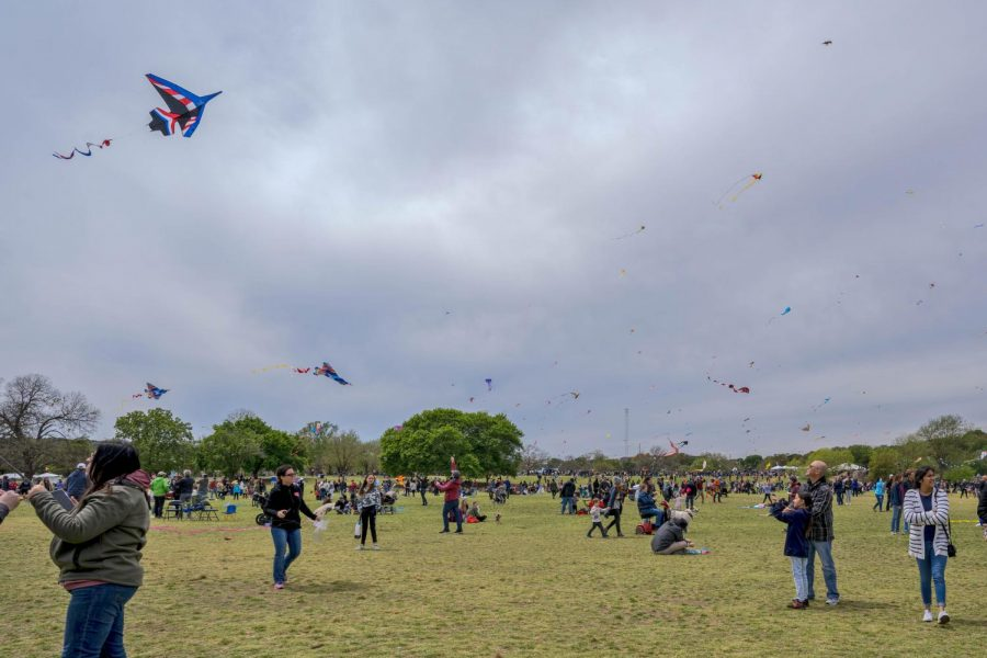 Thousands+of+attendees+gathered+at+Zilker+Park+to+fill+the+sky+with+their+colorful+creations.+The+ABC+Kite+Festival+celebrated+its+90th+year+this+week.+