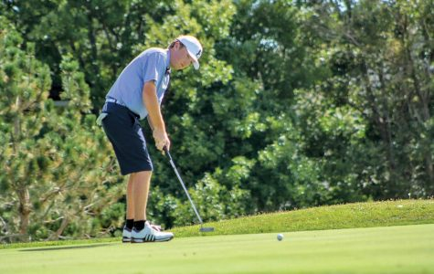 Junior transfer Ryan McGinley has been solid in his first year with the SEU men's golf team.