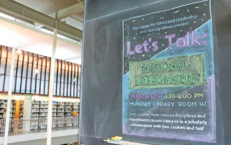 Library hosts panel discussion on controversial national emergency declaration