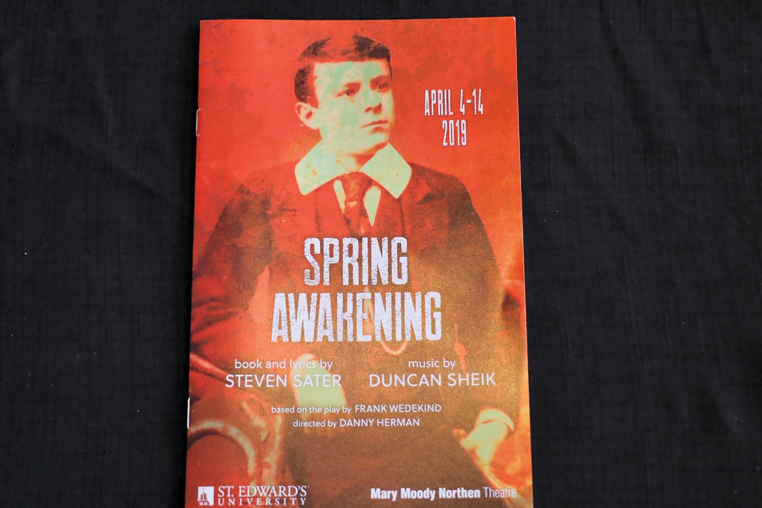 The Mary Moody Nortern Theatre's run of 'Spring Awakening' ended last week. The musical won eight Tony Awards including Best Musical in 2007. On May 2nd and 3rd the theater will be holding free showcases of current students work.