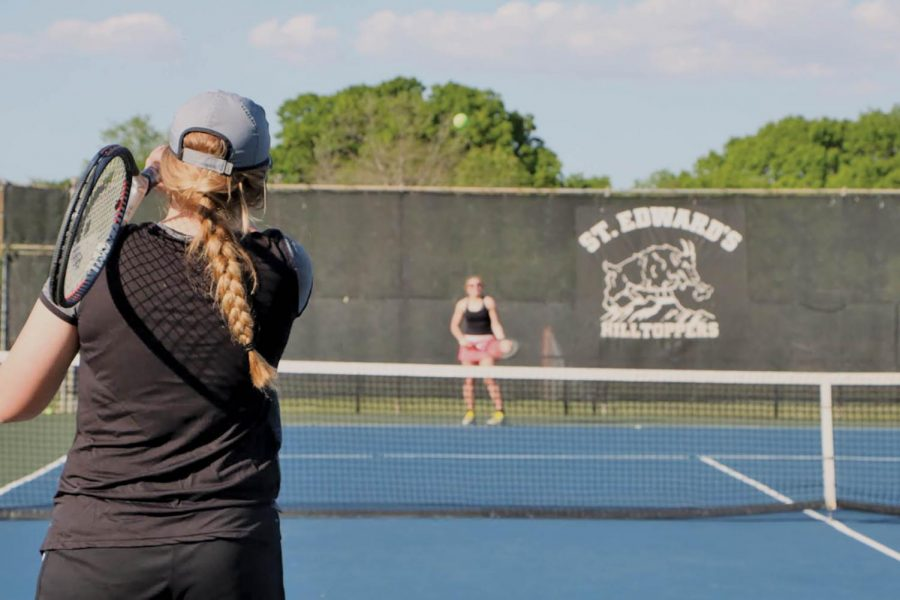 Isabella Rieger's involvement with club tennis has given her the opportunity to make close connections with her fellow teammates and continue working on her passion for the sport.