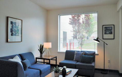 University offers tour of renovated pavilions residence hall