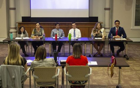SGA holds debate to introduce 2019 candidates